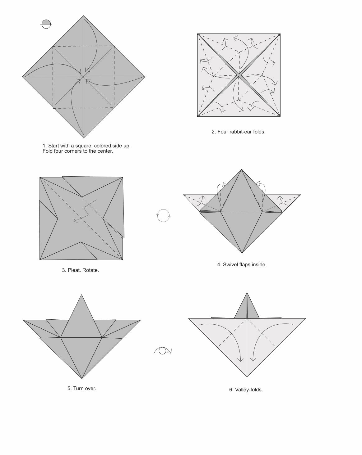 Comment Faire Des Origamis Faciles